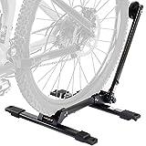Venzo Bicycle Floor Type Parking Rack Stand - for Mountain and Road Bike Indoor Outdoor Nook Garage Storage - with Connectors