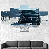 YFTNIPL 5 Leinwand Druck Kunst Poster Maserati Ghibli S Q4