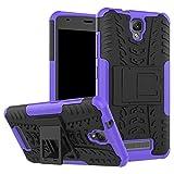ZTE Blade L5 Schutzhülle, ZTE Blade L5 Plus Hybrid-Schutzhülle, doppellagiger Schutz, stoßfest, Hybrid-Schutzhülle mit Ständer für 5 Zoll ZTE Blade L5, ZTE Blade L5 Plus
