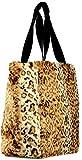 K-Way Borsa Spalla Donna Maculata Peluche Grande Bag Woman K-Plain Peluche Big N/S Shopper K8601-Marrone