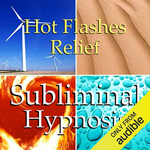 Hot Flashes Relief Subliminal Affirmations audiobook cover art