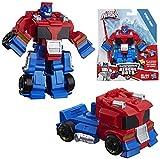 Optimus Prime Robot to Semi Truck Rescue Heroes Transformer 4.5'