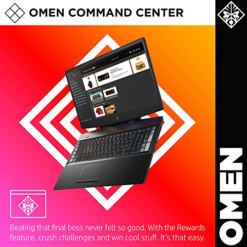 Omen by HP 17-Inch FHD IPS 144Hz Intel i7-9750H, NVIDIA GeForce RTX 2060 VR Ready Gaming Laptop (2019)