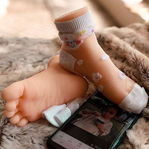 Realistisches weibliches Fußmodell Lebensgroße Mädchenfüße Schaufensterpuppe Werkzeuge für Schmuck, Socken, Schuhe, Fußkettchen ungiftig, rechts