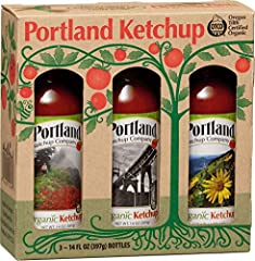BEST GIFT EVER - this gift set was made for ketchup connoisseurs everywhere. Surprise and delight your favorite foodie with this gorgeous ketchup gift pack. Each bottle in the set boasts a photo of the Portland area on the label. Grab a bottle and sp...