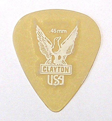 クレイトン ピック ULTEM PICKS ティアドロップ (0.45mm)