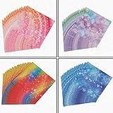 Papel de Origami de Color Multicolor Papel Plegable de Origami Hecho a Mano Manualidades de Papel de álbum de Recortes - sueño