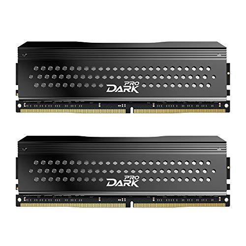 TEAMGROUP T-Force Dark Pro Samsung IC 16GB Kit (2x8GB) DDR4 Dram...