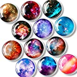 FINDMAG 24 Pack Fridge Magnets Refrigerator Magnets Office Magnets Cute Magnets Planetary Colorful Magnets for Office, Whiteboard, Kitchen