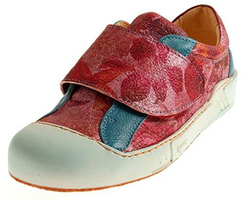 Eject 15625 Damen Low-Top Sneaker Lederschuhe Schuhe Halbschuhe Wechselfußbett Mehrfarbig EU 41