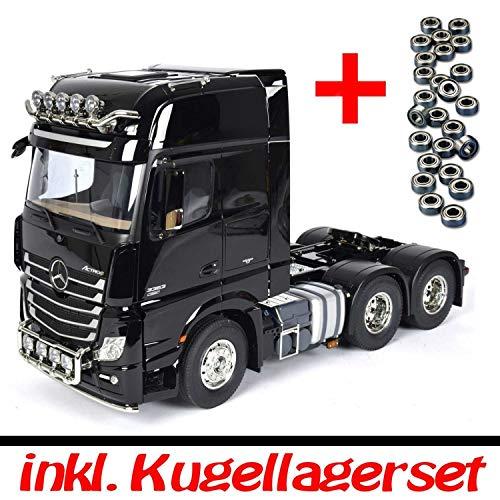Tamiya 1:14 RC Truck - LKW MB Actros 3363 6x4 GigaSpace + Kugellager Set