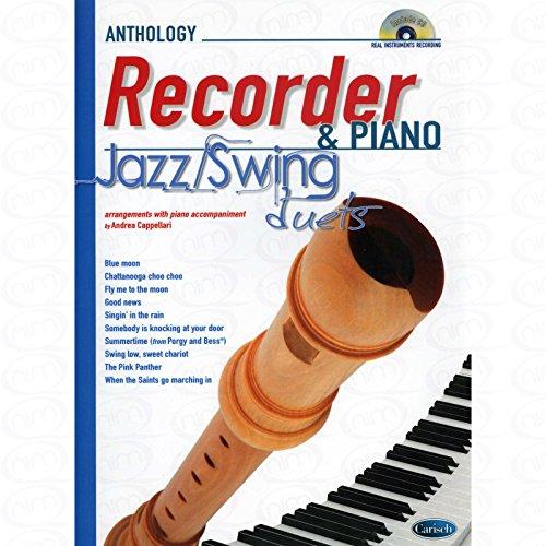 Jazz / Swing duets - arrangiert für Blockflöte - Klavier - mit CD [Noten/Sheetmusic]