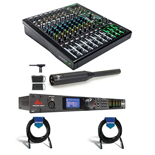 Best Review Of Mackie ProFXv3 12-Channel Professional Effects Mixer with USB + Software Bundle - Bun...