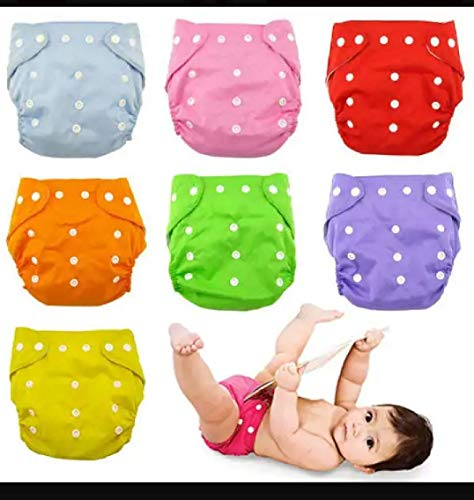 Generic All-in-One Bottom-Bumpers Cloth Diaper (Set of 3)