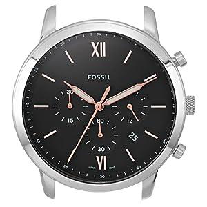 Fossil Neutra Chrono – Reloj casual para hombre, cuarzo, acero inoxidable,