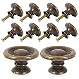 Comficent Pomos Vintage Tiradores Manillar en Forma de Concha tirador bronce para Puerta Armario Caj/ón Muebles Gabinete Plata