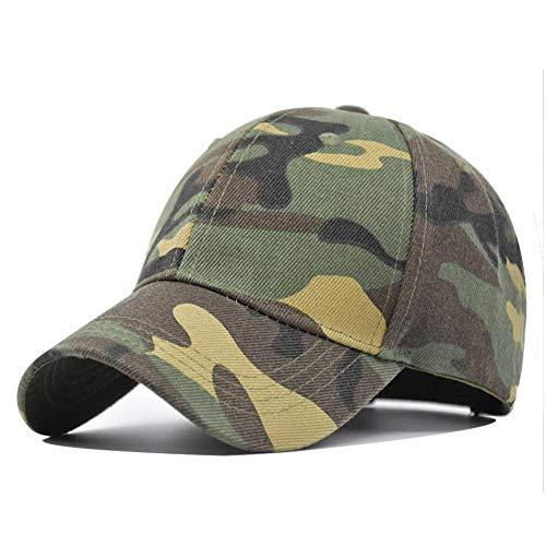 SZJXZ Baseballmütze Herren- Und Damenmode Verstellbar Militär Fan Cap Ente Zunge Baseball Cap Männer Und Frauen Lässig Hip Hop Travel Cap Netz Hut Ca102A