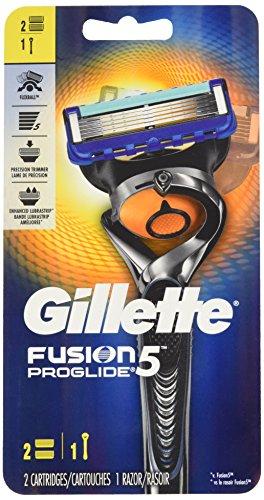 Rasoir pour Hommes Gillette Fusion5 ProGlide Power, 2 Cartouches de Rechange - 0