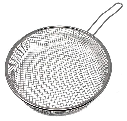 LS Kitchen - Sartén Freidora con Cestillo - Inducción Rápida - 20 cm - Negra