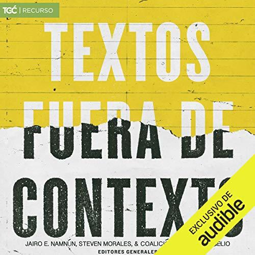 Textos fuera de contexto [Texts out of Context] audiobook cover art