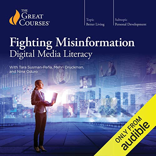 Fighting Misinformation audiobook cover art