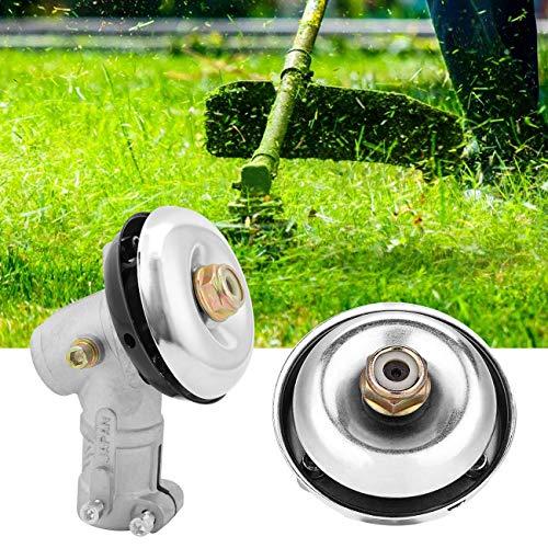 WICHEMI Lawn Mower Gear Head Universal 9pin Spline Brush Head Cutter Strimmer Grass Trimmer Gearhead Gearbox Lawnmower Brushcutter Accessories, 26mm Diameter