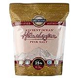 SaltWorks Ancient Ocean Himalayan Pink Salt, Fine Grain, 25 Pound Bag