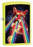 Zippo Unisex Feuerzeug Pizza Cat Winddicht Pocket