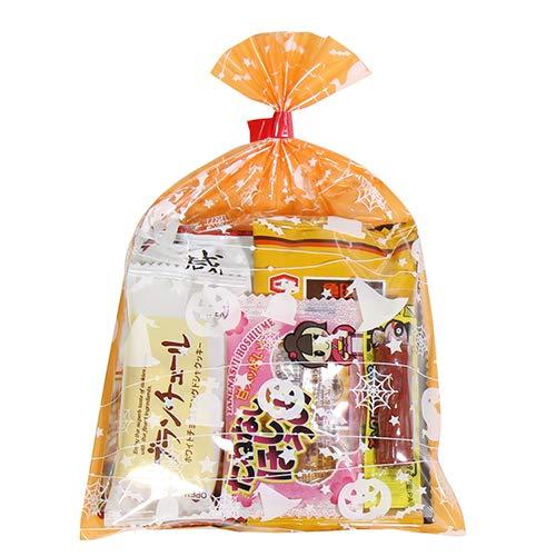 ハロウィン袋 180円 お菓子袋詰めおつまみ 詰め合わせ 駄菓子 おかしのマーチ