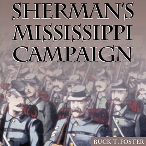 Sherman's Mississippi Campaign audiobook cover art
