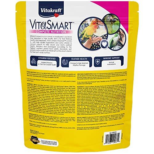 Bird | Vitakraft Vitasmart Conure & Small Parrot Food, High Variety Formula – 4Lbs, Gym exercise ab workouts - shap2.com