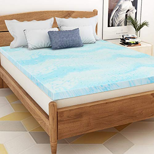 Mattress Topper King, Memory Foam Mattress Topper for King Size Bed, 3 Inch