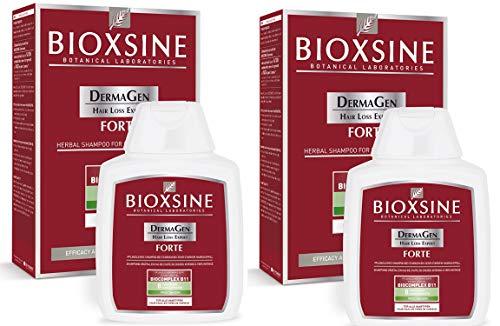Bioxsine Forte Shampoo bei starkem Haarausfall- für Frau und Mann | mit pflanzlichem Haarwaschmittel das Haarwuchs beschleunigen 2x 100 ml