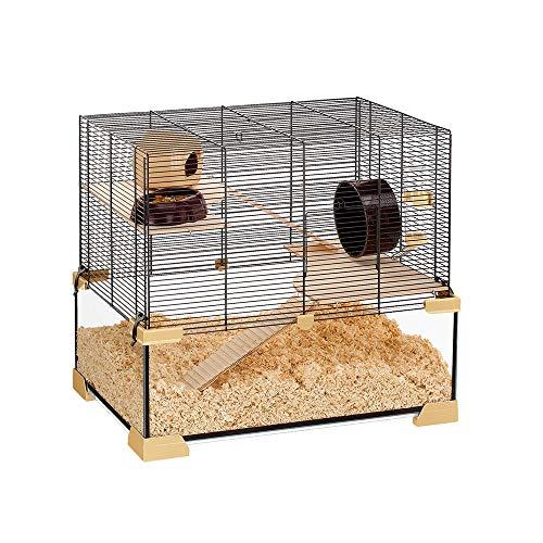 Ferplast Karat 60 Cage en Verre pour Rongeur 59,5 x 39 x 52,5 cm
