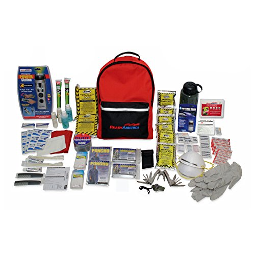 Ready America 70285 Deluxe Emergency Kit 2-Person, 3-Day Backpack