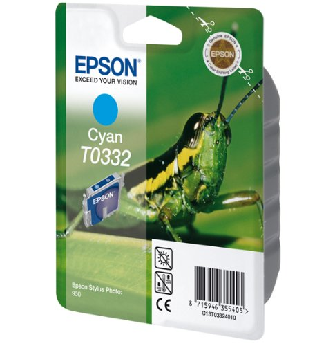 Epson Ink Cart Cyan 450sh f Stylus Photo 950, 118 x 22...