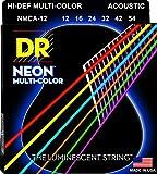 DR Strings HI-DEF NEON Acoustic Guitar Strings (NMCA-12)