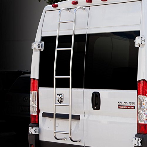 Surco 093PML Stainless Steel Van Ladder for Promaster (High Roof)