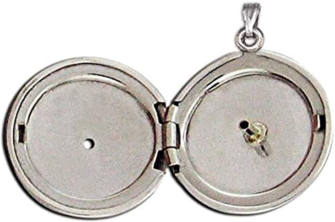 PicturesOnGold.com 14K Yellow Gold sold out Cremation D Locket W Hair and Low price