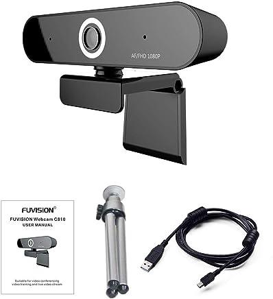 Messa a Fuoco Automatica Webcam 1080P, Fotocamera Digitale con Microfono per videoconferenza, Registrazione e Streaming, Vista estesa a 90 Gradi, Telecamera Live Stream per PC, Laptop e Desktop - Trova i prezzi più bassi