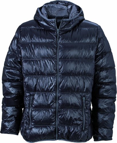 James & Nicholson Herren Jacke Jacke Men's Jacket schwarz (black/grey) XXX-Large