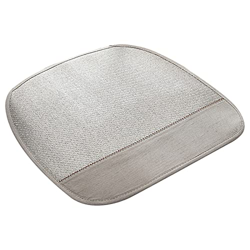 Xue Mei Zi Cojines para Espalderas Y Sillas Lavables Cojines De Respaldo CojíN del Asiento Forma De Una PezuñA para Silla De Oficina Silla del Comedor Sofa Silla De Juego (Color : Gray)