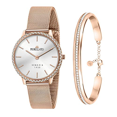 Morellato Special pack da donna, composto da orologio, Collezione 1930, e bracciale, Collezione Cerchi - R0153161504