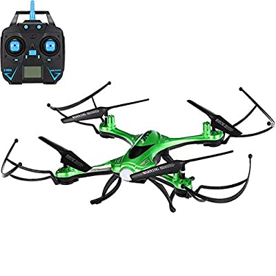 GoolRC H31 Waterproof Drone With Headless Mode One Key Return Drone Waterproof RC Quadcopter(Green)