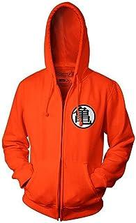 Dragon Ball Z Goku Kame - Sudadera con capucha para adulto, color naranja