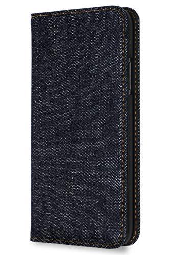 NeedNetwork iphone8 ケース iPhone SE ケース 第2世代 iphone7ケース 岡山デニム 手帳型 iphone6 ケース iphone6s ケース アイフォン 耐衝撃 カードホルダー スタンド マグネット式 カバー セルヴィッチデニム ストラップホール スリム 薄型