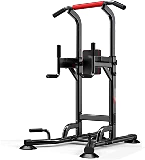 ZJETVO Multifunctional Exercise Equipment, Power Tower,Dive Stands for Home Gym Strength Training Fitness Adjustable Equip...