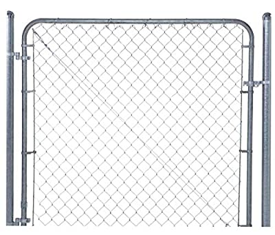 "Fit-Right Chain Link Fence Walk-through Gate Kit (24""-72"" wide x 4' high)"