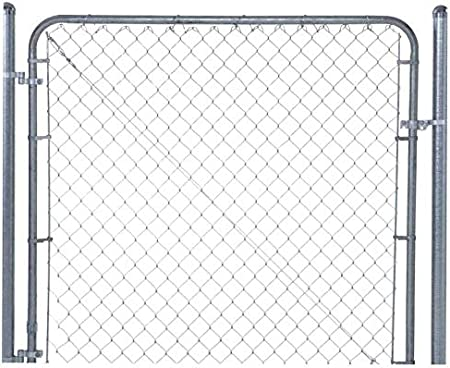 """Chain Link Residental Gate Kit for 1-5//8/"""" gate frame and 2/"""" end post"""