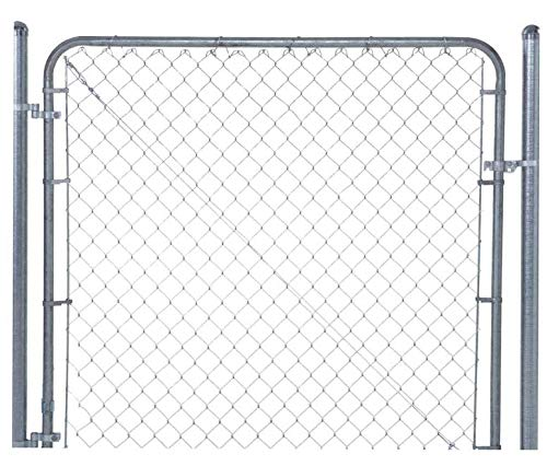 Fit-Right Chain Link Fence Walk-through Gate Kit (24'-72' wide x 6' high)